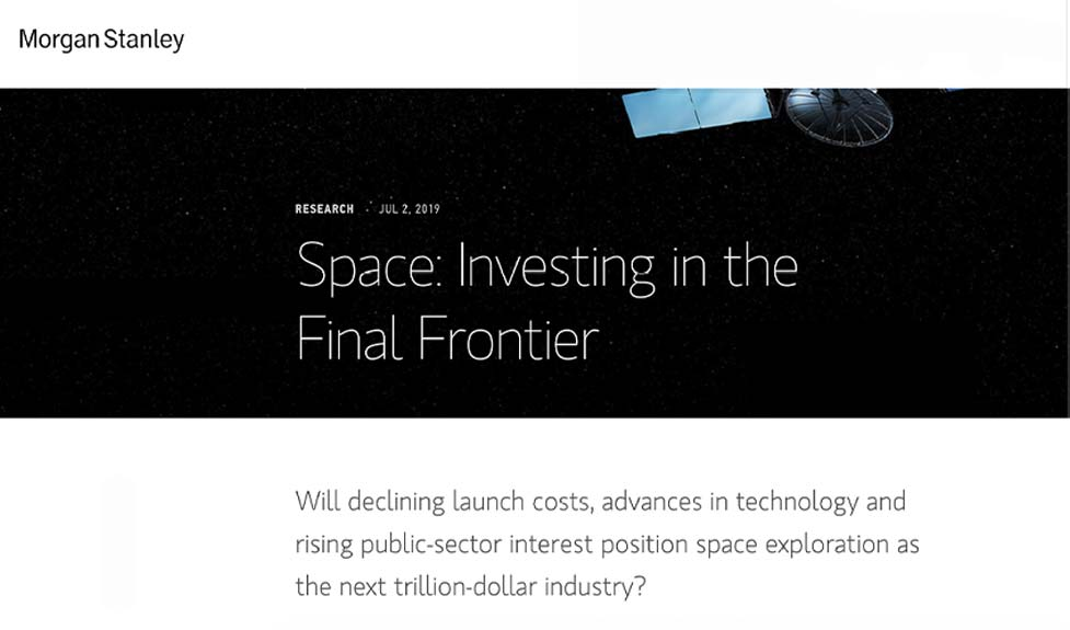 Space: Investing in the Final Frontier